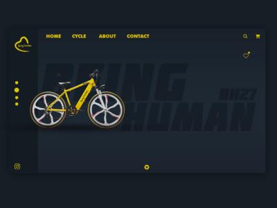 Being Human Cycle Ui Design