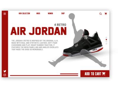 Jordan landing Page