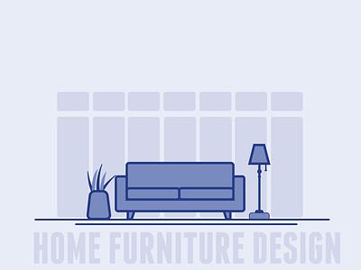 furniture design illustration art simpleart typography house illustrator illustrations logos logo artwork simple flat illustration flatdesign vector design