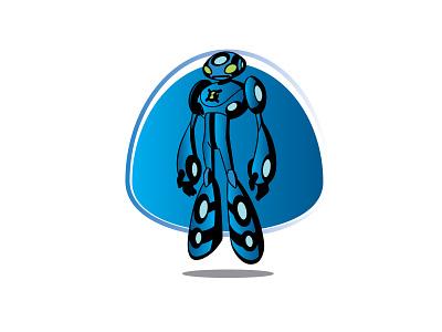 Ben 10 Illustration mumbai dribbleartist dribble landingpage newwork alien sketch logos logo vector illustrator uiux ui ben10 artwork simple flat illustration flatdesign design