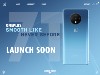 Oneplus 7t Page