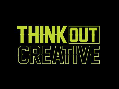 Text design design art dribbleartist thoughts creative think weekly warm-up dribbble uiux ui words artist logos logo artwork simple illustration vector design
