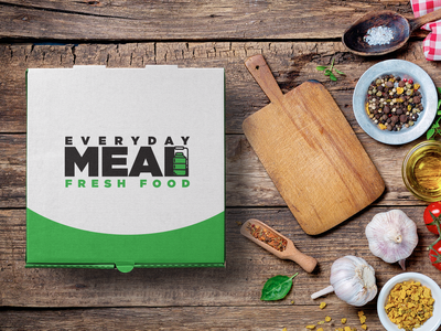Food Logo Design concept design logotype meal food logo dribbble everyday food animated ux ui typography icon logos artwork simple flat vector illustration logo design
