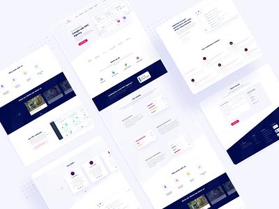 ClickBoost Web Design/Landing Page Design.