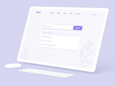 Daily UI Design Challenge | Day 22 | Search mockup pattern clean searchpage search figma logo branding design illustration appdesign landingpage webdesign uiux adobexd ux uiux ui