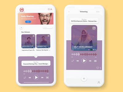 UI Design Streaming Apps