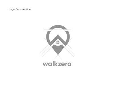 walkzero logo construction universal unique logo logodesign logotype brand identity logos zero walk walking goldenratio typography vector branding logo creative  design 2020 app dribbble design hello dribble