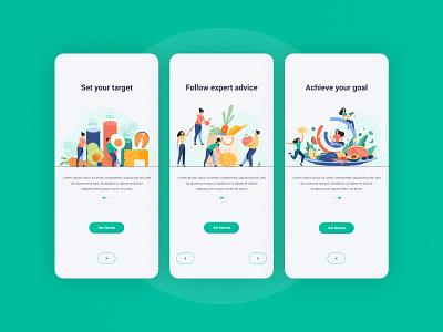 Onboarding mobile app designer productdesign health app ui nutrition health ui  ux ux design uiux logodesign ux branding creator design app 2020 dribbble hello dribble creative  design