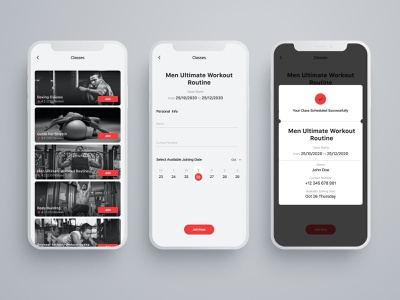 Gym Classes trainers activity meal plan workout health fitness app fitness typography illustration branding logo ux ui creator creative  design app 2020 dribbble design hello dribble