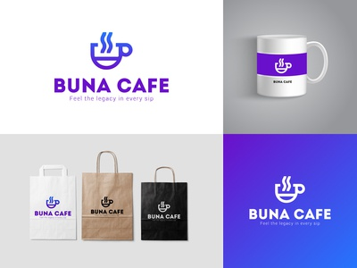 Buna Cafe Logo & brand name
