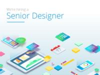 Hiring a Senior Designer