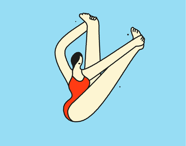 yoga poses asana yoga figures illustration