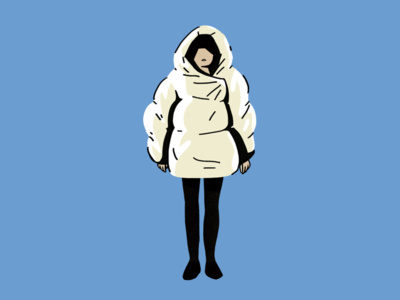 Winter outfit cold winter outfit character design