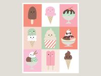Ice Cream Faces