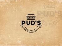 bread puds icon desain logo typography branding logo logoinspiration animation illustration vector logodesign