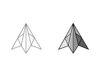 triangle lettering desain logo minimal flat illustration typography logoinspiration logo vector logodesign