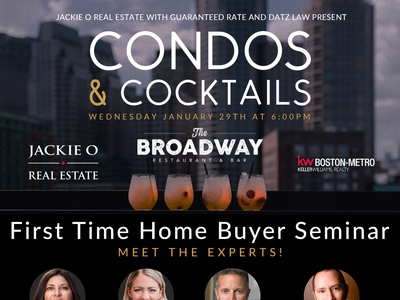 Condos & Cocktails - Event Graphics