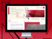 Website proposal Biennnale di Venezia