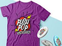 logo proposal - Push Pop