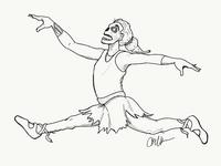 Zombie Ballerina