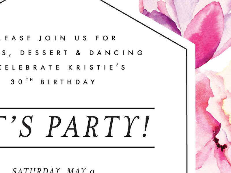 birthday party design birthday party floral