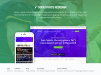 Sqor Sports - Portfolio Case Study