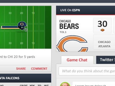 Fanter.tv: live game view nfl sports ipad football