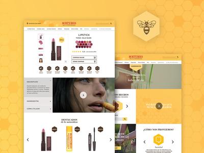 Burt's Bees Website