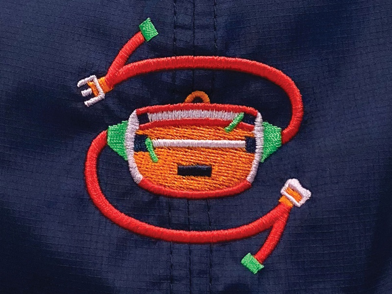 Fanny Cap embroidery fanny pack