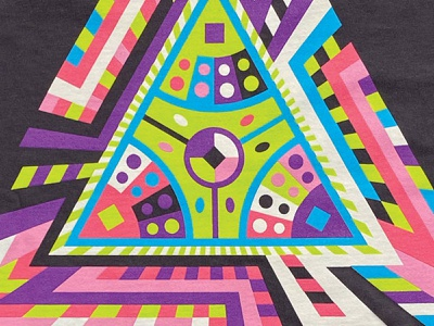 jivangle v3 bro woah technology geometry triangle merch band jam goose