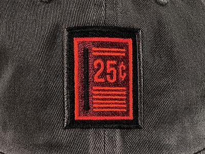SLOT CAP embroidery button arcade cap hat slot quarter