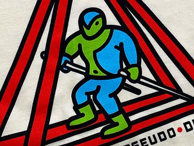 triathlon bodysuit henchman villain skiing skier triathlon athlete race