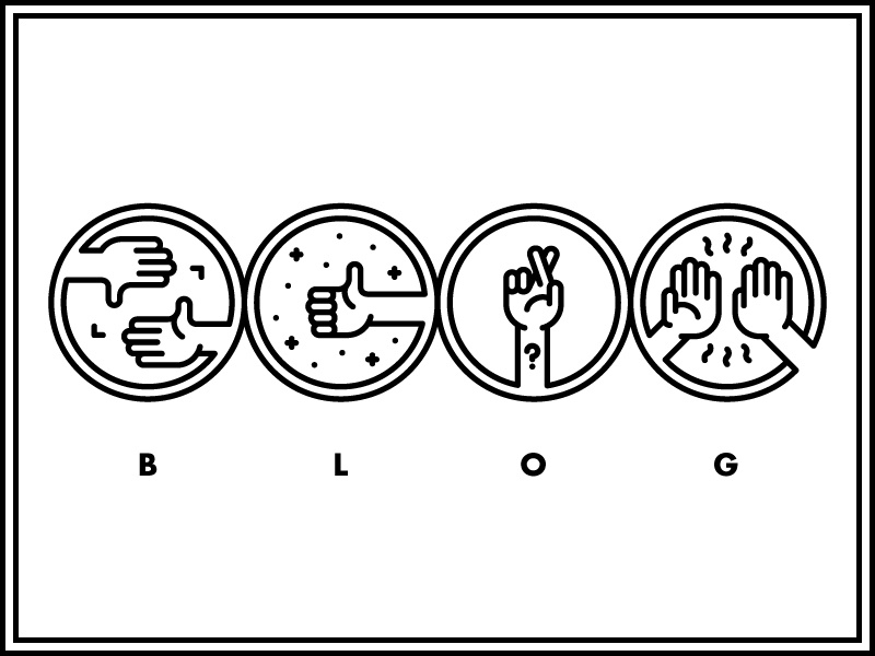 Clockwise Blog Icons hands icons blog
