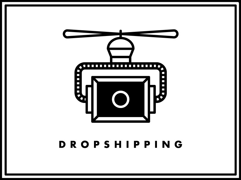 Service Rebrand helicopter robot drone package dropship