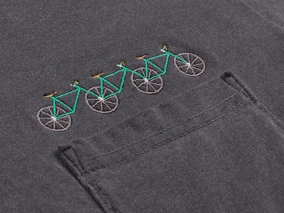 Tetracycle shirt pocket tetracycle tricycle bicycle