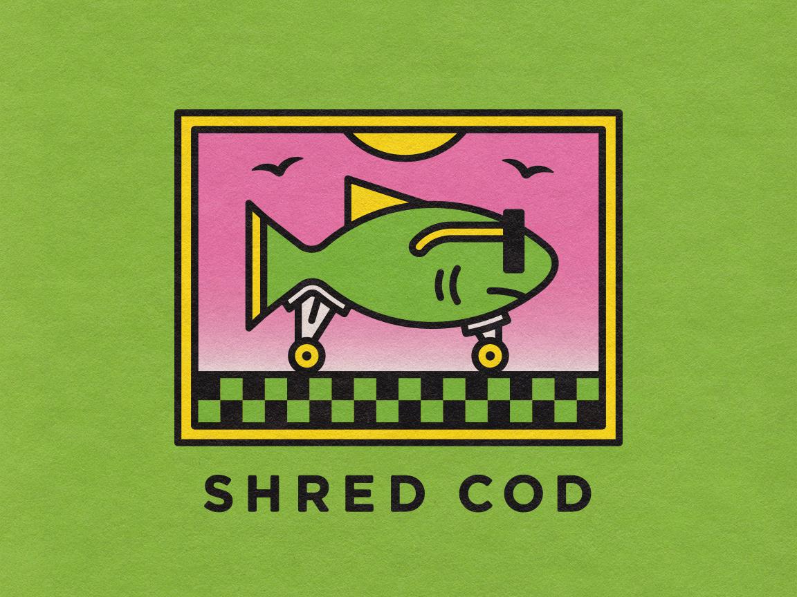 Shred Cod heat sunglasses fish