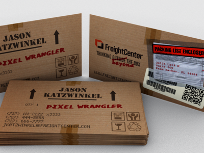 Business Cardboard