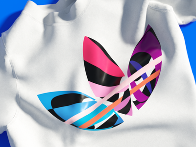 Adidas T-shirt design marvelous designer c4d 3d