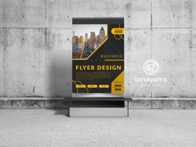Business Flyer Design event company digital printing design graphic marketing promotion advertising templates business banner flyer