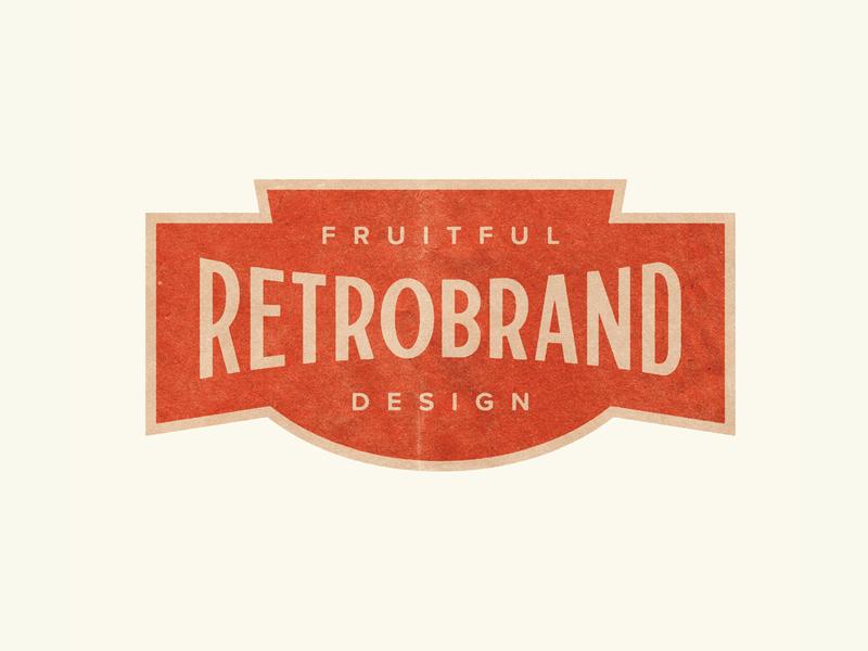 Retrobrand retro handdrawntype typography grunge vintage handlettering lettering