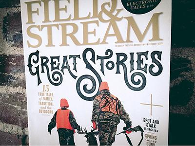 Field & Stream Magazine Cover