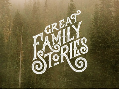 Great Family Stories Vertical Lockup