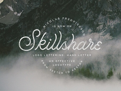 Check Out My Skillshare Class!!