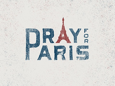 pray for paris by nicolas fredrickson dribbble