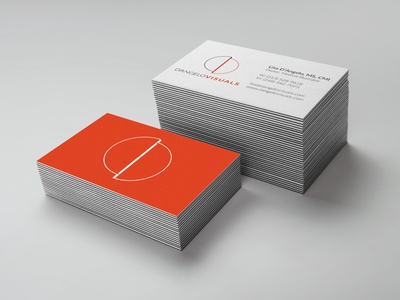 D'angelo Visuals Business Card