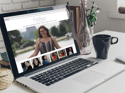 Darby J Photography Website