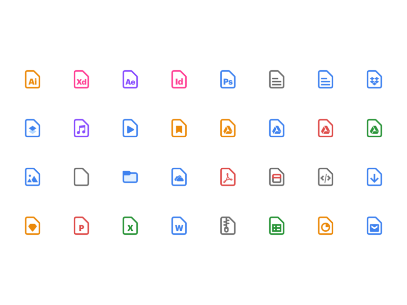 Todoist Android File icons material todo app icon set attachments files todolist todo management task todoist ui icon android app