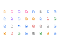 Todoist Android File icons