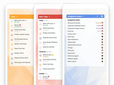 New Todoist Android Widget beta new widgets widget list android app