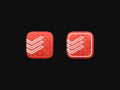 Todoist development icons custom icons testing beta alpha development sketch icon ui todoist ios app